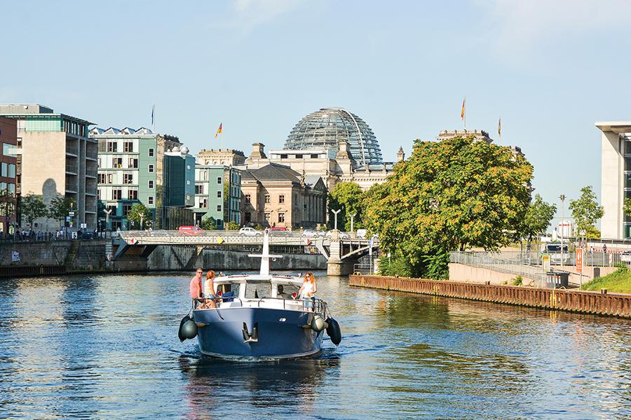 Berlijn boot huren